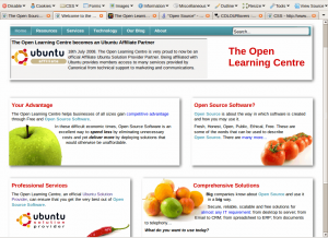 The Open Learning Centre: Home Page