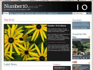 Number 10\'s WordPress Website