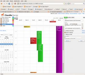 Cosmo Server Screenshot