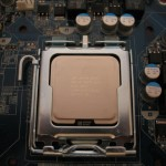 Processor Installed in LGA775 Socket