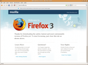 Welcome to Firefox - proposed replacement for the EULA