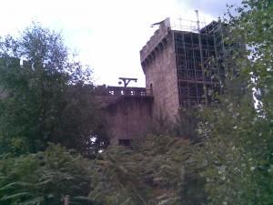 Back of Castle