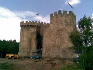 Castle from the front
