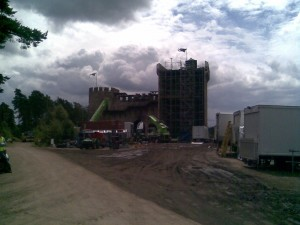What the back of the Castle really looks like