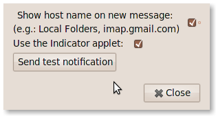 Libnotify Preferences